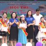 Trường Tiểu học Lưu sơn tổ chức vòng chung kết Nét đẹp tuổi hoa.