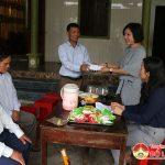 Ban cứu trợ thành phố Hồ Chí Minh trao 200 triệu đồng hỗ trợ thân nhân gia đình liệt sỹ tại Đô Lương.