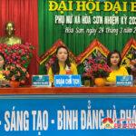 Sáng ngày 24/3/, Hội phụ nữ xã Hòa Sơn đã tổ chức Đại hội đại biểu nhiệm kì 2021 – 2026