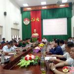UBND huyện Đô Lương tham gia hội nghị trực tuyến tổng kết thực hiện Nghị quyết số 56 của HĐND tỉnh quy định một số biện pháp giải tỏa vi phạm hành lang an toàn giao thông đường bộ, đường sắt, hè phố trên địa bàn tỉnh giai đoạn 2017 – 2020