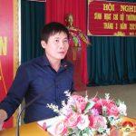 Đồng chí Nguyễn Tất Hoài Hiệp – Phó bí thư thường trực Huyện ủy dự sinh hoạt chi bộ tại xóm Diên Tiên