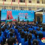 Đoàn trường THPT Đô Lương I tổ chức lễ mít tinh kỷ niệm 90 năm ngày thành lập Đoàn