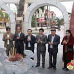 Hội Khoa học lịch sử Hà Tĩnh tham quan , tìm hiểu về cuộc khởi nghĩa Đô Lương.