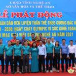 Đô lương giành giải nhì toàn đoàn giải Việt dã tỉnh Nghệ An năm 2021