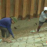Đô lương đẩy nhanh tiến độ thi công sông đào.