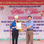 """Hội thi """"Rung chuông vàng"""" tại trường THCS Nguyễn Thái Nhữ"""
