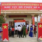 Đồng chí Nguyễn Xuân Sơn – Chủ tịch HĐND tỉnh, Phó ban chỉ đạo công tác bầu cử Tỉnh kiểm tra công tác bầu cử tại Đô Lương.
