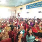 Đại hội phụ nữ xã Lạc Sơn nhiệm kỳ 2021- 2016.
