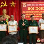 Hội CCB huyện sơ kết 5 năm thực hiện chỉ thị 05 CT/TW của Bộ chính trị