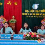 Hội phụ nữ xã Đại Sơn tổ chức Đại hội đại biểu nhiệm 2021- 2026