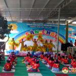 Trường mầm non Văn Sơn tổ chức sân chơi hành trang cho trẻ 5 tuổi vào lớp 1
