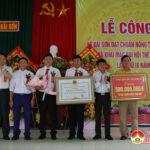 Xã Bài Sơn tổ chức lễ công bố quyết định công nhận đạt chuẩn NTM và khai mạc Đại hội thể dục, thể thao lần thứ IX.