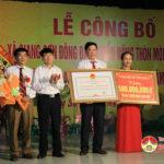 Xã Giang Sơn Đông , huyện Đô Lương tổ chức lễ đón nhận đạt chuẩn nông thôn mới