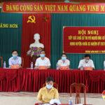 Đô Lương hoàn thành tiếp xúc cử tri với ứng cử Đại biểu Quốc hội và Đại biểu HĐND các cấp nhiệm kỳ 2021 – 2026.