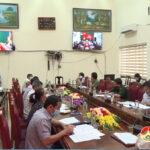 Đô Lương tham gia hội nghị trực tuyến chống dịch COVID-19 Tỉnh tổ chức
