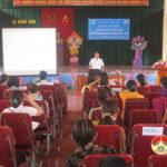 Quỹ TYM Đô Lương tập huấn cho nữ ứng cử viên tham gia ứng cử HĐND các cấp nhiệm kỳ 2021 – 2026