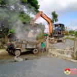 Xã Lạc Sơn tiếp tục triển khai làm giao thông Nông thôn mới nâng cao