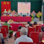 Hội nghị tiếp xúc cử tri xã Đặng Sơn với người ứng cử Đại biểu HĐND khóa XX nhiệm kỳ 2021-2026