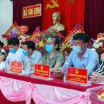 Hội nghị tiếp xúc giữa cử tri với người ứng cử đại biểu HĐND huyện tại đơn vị bầu cử số 8