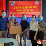 Quỹ tình thương-Chi nhánh Đô Lương tặng trường Tiểu học xã Đại sơn 2 bộ vi tính