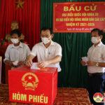 Đô Lương 216 điểm bỏ phiếu bầu cử Quốc hội khóa XV và HĐND các cấp nhiệm kỳ 2021 – 2026