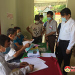 Đến 17h chiều ngày 23/5/2021, Đô Lương có 92% cử tri tham gia bỏ phiếu bầu cử