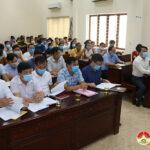 UBMT tổ quốc huyện triển khai công tác  tổ chức hội nghị tiếp xúc cử tri vận động bầu cử cho người trúng cử Đại biểu HĐND huyện Đô Lương khóa XX nhiệm kỳ 2021 – 2026.