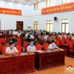 Huyện ủy tổ chức rà  soát công tác bầu cử Đại biểu Quốc hội khóa XV và Đại biểu HĐND các cấp nhiệm kỳ 2021 – 2026