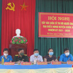 Hội nghị tiếp xúc giữa cử tri với người ứng cử đại biểu HĐND huyện tại đơn vị bầu cử số 1