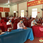 Các ứng cử viên người ứng cử đại biểu HĐND huyện tiếp xúc với cử tri xã Đà Sơn