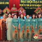Hội LHPN thị trấn Đô Lương đại hội đại biểu nhiệm kỳ 2021 – 2026