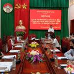 HĐND huyện Đô Lương tập huấn trực tuyến công tác bầu cử Quốc hội, HĐND các cấp