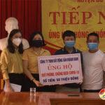 Kết quả ủng hộ quỹ phòng, chống Covid – 19 huyện Đô Lương