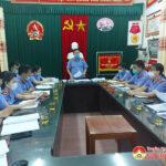 Viện kiểm sát Đô Lương tổ chức sơ kết công tác 6 tháng đầu năm 2021