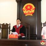 Tòa án nhân dân huyện Đô Lương  mở phiên tòa xét xử tàng trữ trái phép chất ma túy đối với Nguyễn Sỹ Tú Linh và Trần Đức Quý.