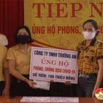 Công ty TNHH Trường An và công ty Bất động sản Khánh Nam ủng hộ quỹ Covid – 19.