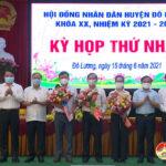 Hội đồng nhân dân huyện Đô Lương khóa XX tổ chức kỳ họp thứ nhất