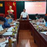 Thường trực huyện ủy Đô Lương Duyệt kế hoạch Đại hội phụ nữ huyện nhiệm kỳ 2021-2026