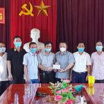 CLB bóng đá Bình Minh và nhiều cá nhân ở Thị trấn Đô Lương ủng hộ quỹ phòng chống Covid-19