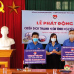 Huyện Đoàn Đô Lương hưởng ứng chiến dịch thanh niên tình nguyện hè năm 2021 và trao 2 công trình sân chơi