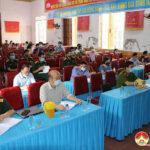 Ban chỉ huy quân sự huyện tổ chức tập huấn diễn tập khu vực phòng thủ năm 2021