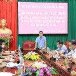 Sở GD&ĐT Nghệ An tổ chức hội nghị trực tuyến triển khai kỳ thi THPT năm 2021.