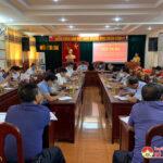 Đảng bộ cơ quan Huyện ủy sơ kết công tác xây dựng Đảng 6 tháng đầu năm, định hướng nhiệm vụ 6 tháng cuối năm 2021.