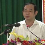 Các đại biểu HĐND tỉnh tiếp xúc cử tri trước kỳ họp thứ 2 tại xã Hồng Sơn