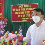 Đại biểu HĐND huyện tiếp xúc cử tri tại xã Lam Sơn