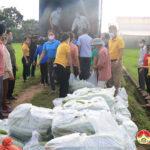 Huyện Đô Lương vận chuyển 30 tấn hàng hỗ trợ nhân dân Thành phố Hồ Chí Minh