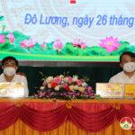Bế mạc kỳ họp thứ Hai HĐND huyện Đô Lương khóa XX, nhiệm kỳ 2021-2026.
