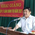 Đô Lương khai giảng lớp Sơ cấp lý luận chính trị năm 2021