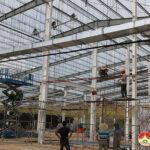 Công ty TNHH Lan Chi tập trung nhân lực đẩy nhanh tiến độ xây dựng siêu thị
