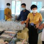 Linh mục Nguyễn Văn Thanh hộ trợ 210 suất cơm cho người cách ly tại các xã và lực lượng trực chốt kiểm dịch